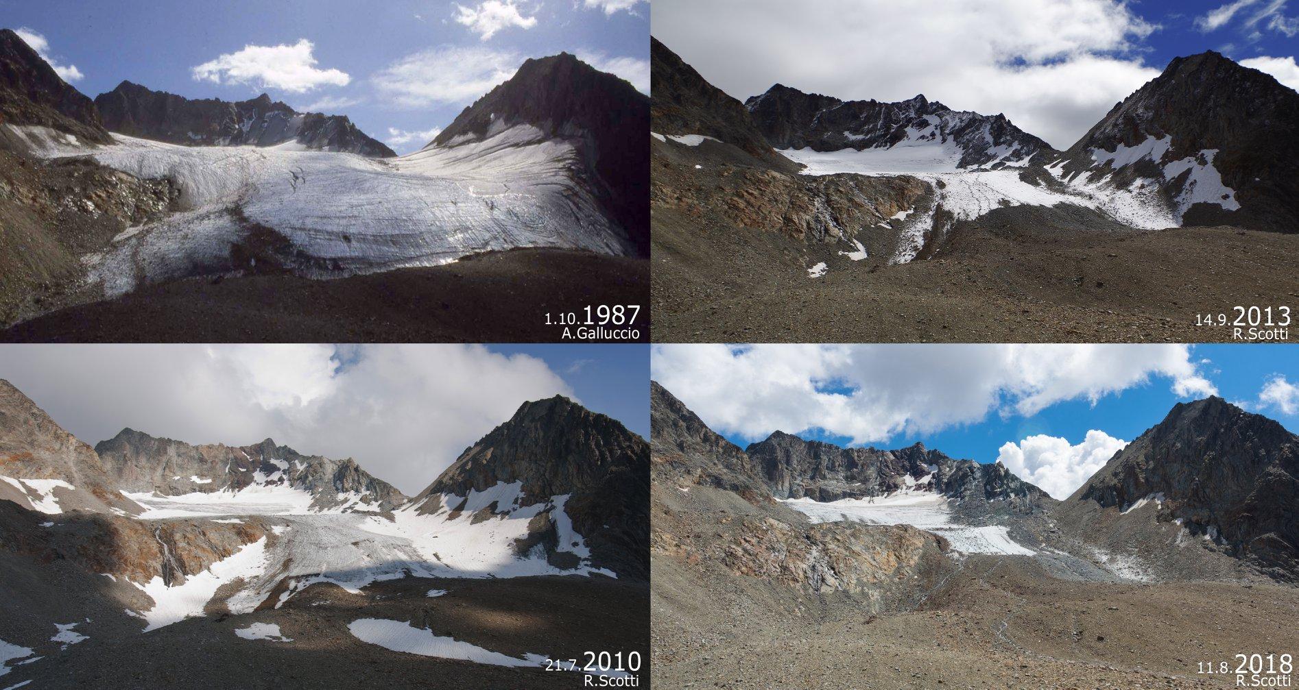 Photo of In timelapse lo scioglimento del ghiacciaio sopra Livigno: -250cm di spessore in un anno