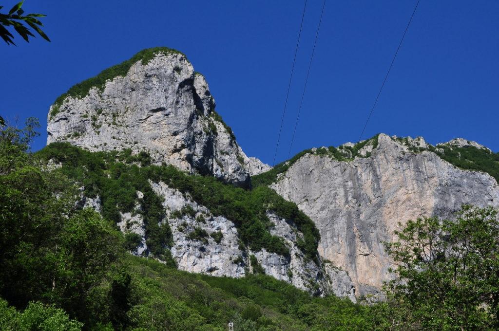Ferrata, arrampicata, montagna