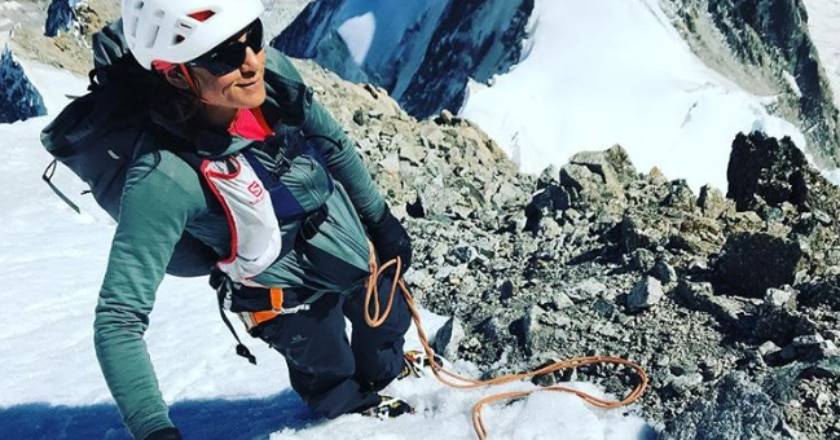 Liv Sansoz, alpinismo, Ueli Steck