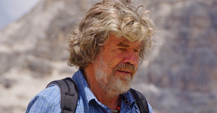 Reinhold Messner, Monte Bianco, rifugio Goûter