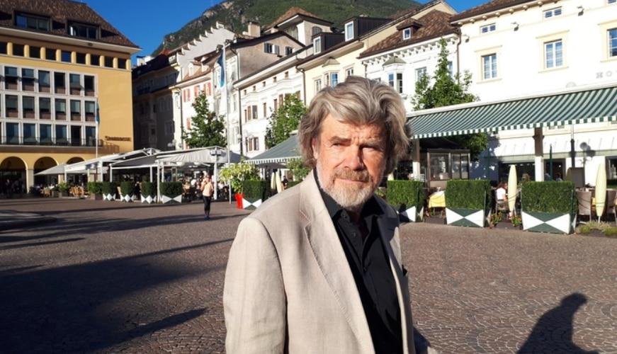 Reinhold Messner, L'assassinio dell'impossibile, montagna, numero chiuso, Monte Bianco