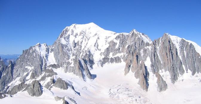 Monte Bianco, rifugio Goûter