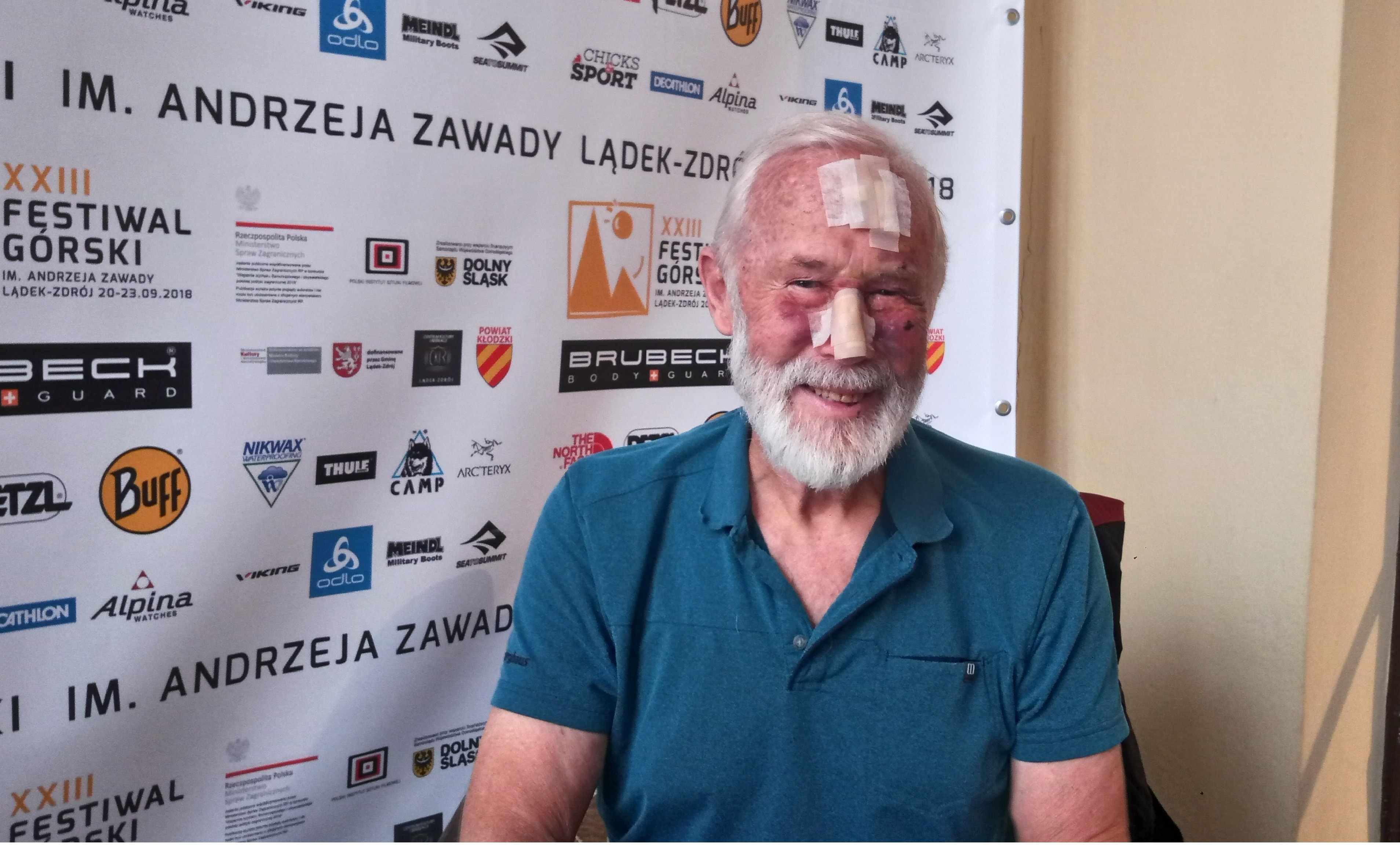 Sir Chris Bonington, Ladek Mountain Festival