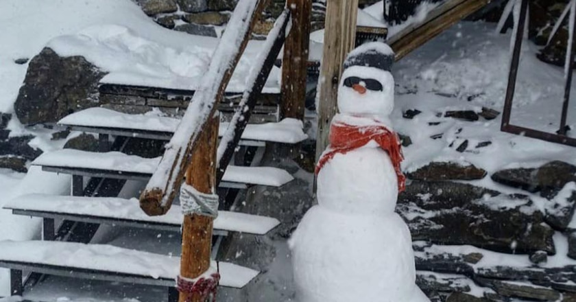 capanna margherita, neve, monterosa