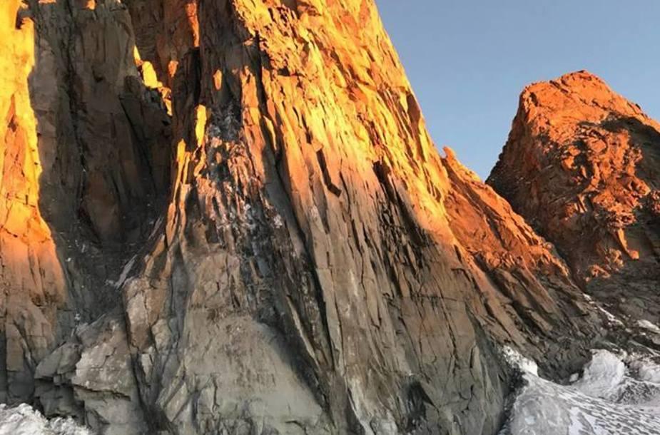 Trident du Tacul, Monte Bianco, arrampicata