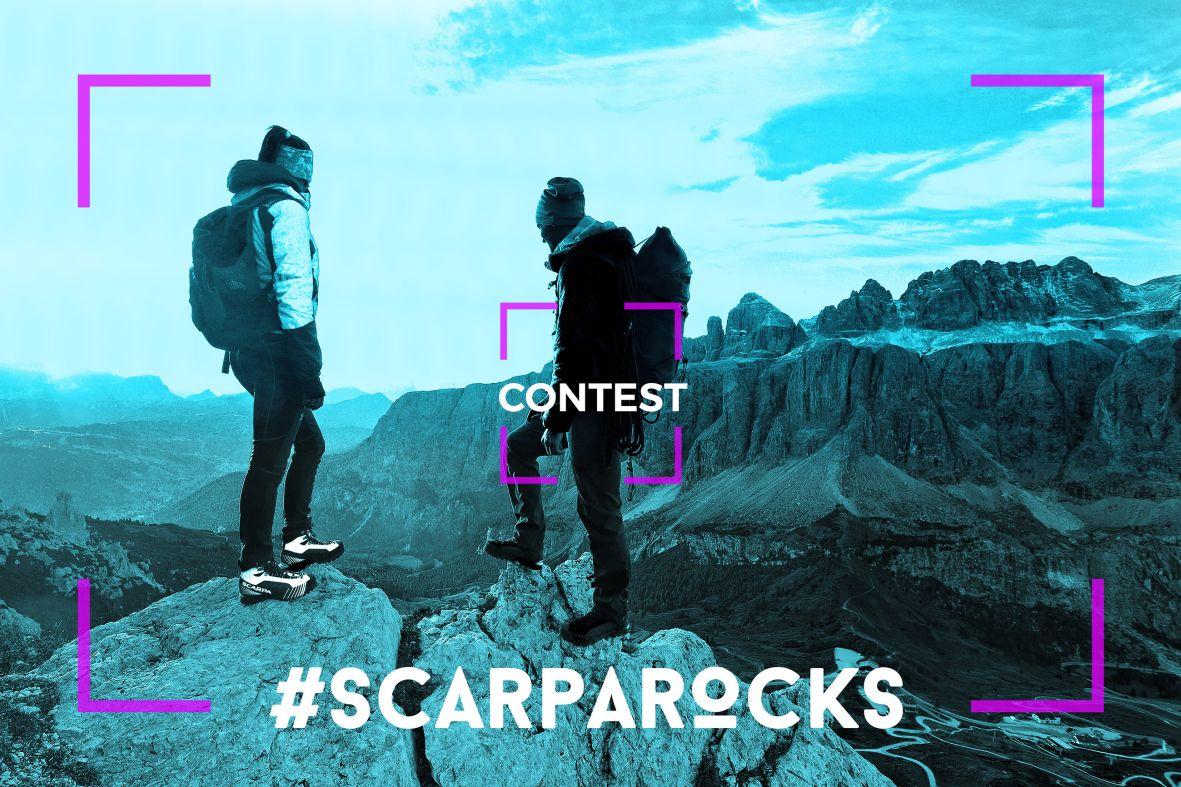 Photo of Parte oggi il concorso #SCARPAROCKS, vinci un trekking per due con le guide alpine!