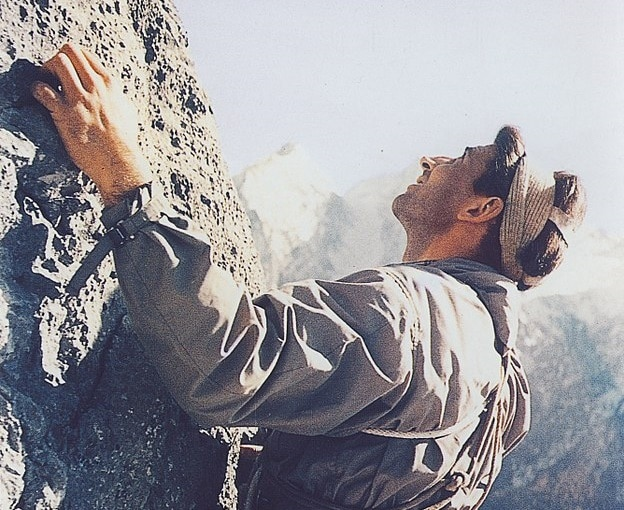 Hermann Buhl, alpinismo, ottomila, NangaParbat, Broad Peak
