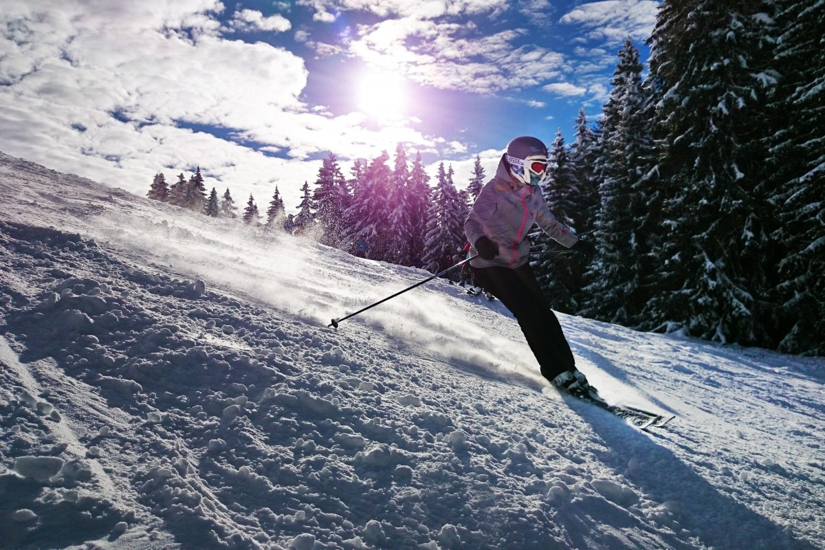 Sci, Courmayeur, Monte Bianco