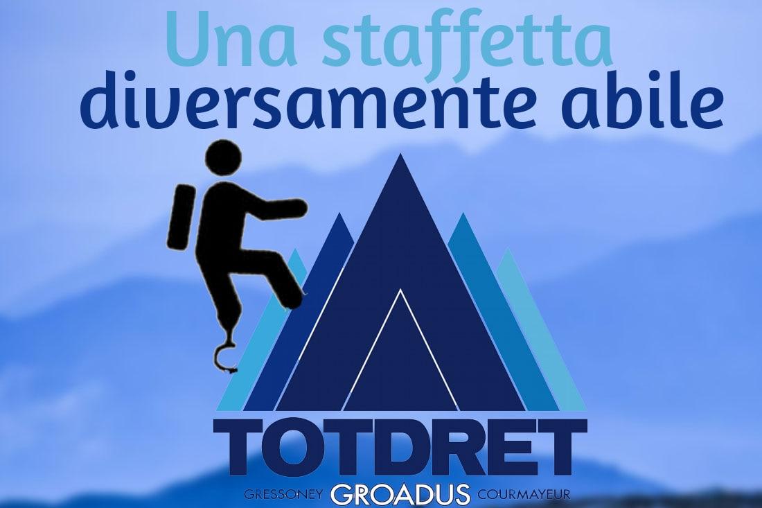 Gambe in spalla, TotDret, disabilità, trail running, Grivel