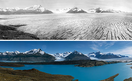 """Photo of """"Sulle tracce dei ghiacciai"""", in mostra il dramma dei ghiacciai che muoiono"""