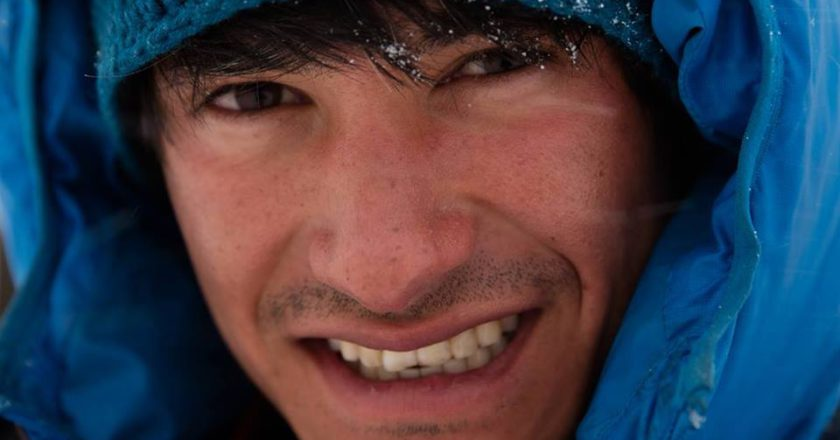 David Lama, Lunag Ri, Nepal, Himalaya, prima salita, vetta, solo