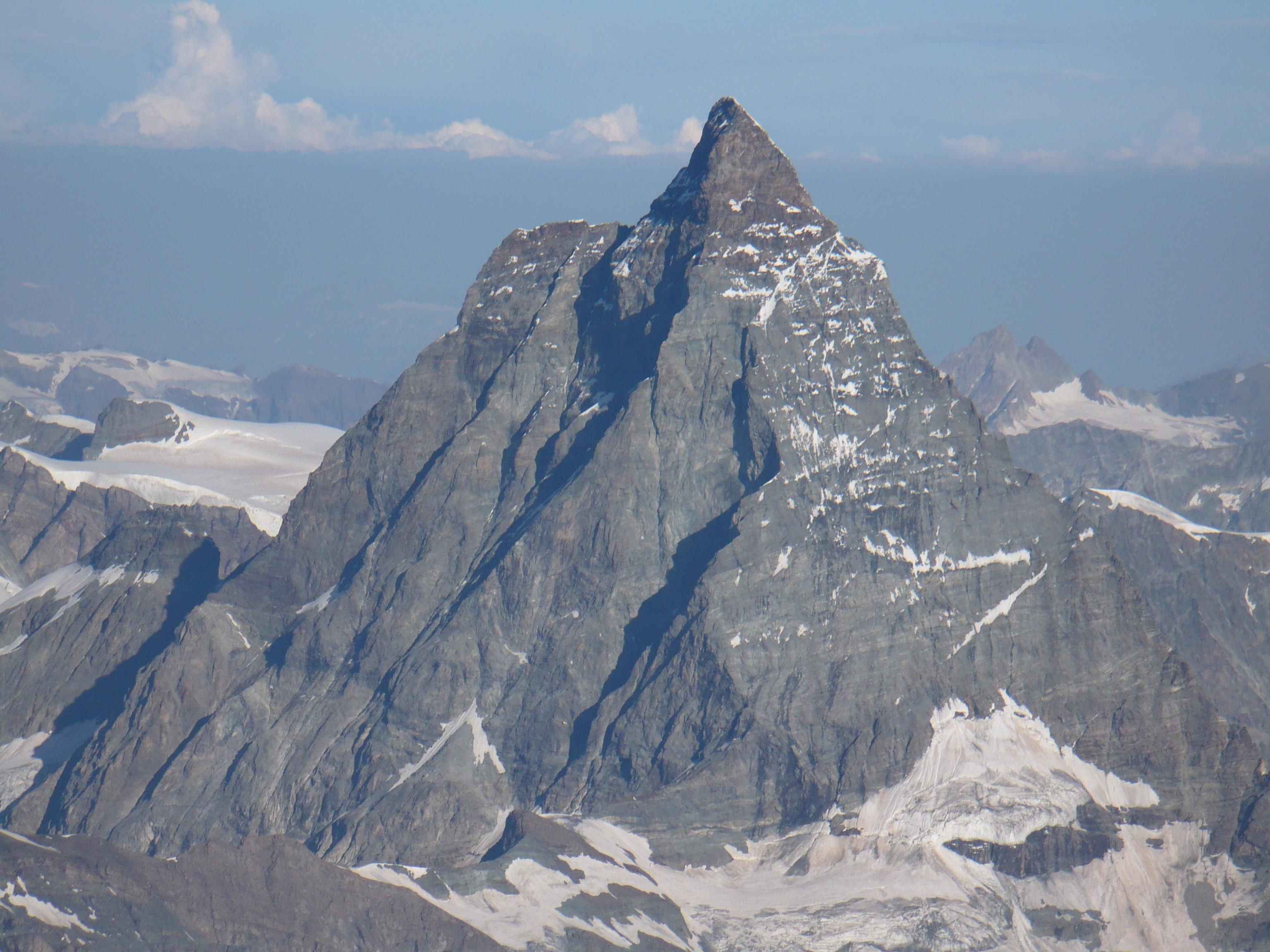 Cervino, montagna, cronaca