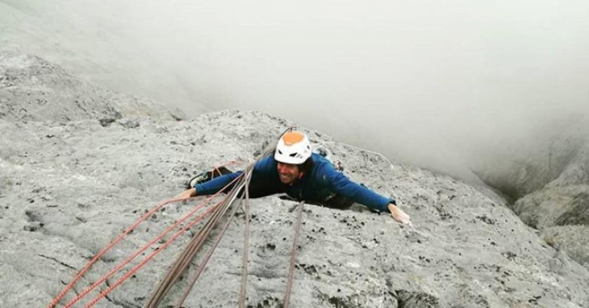 Matteo Della Bordella, Kaspar Ochsner, Ueli Steck, arrampicata
