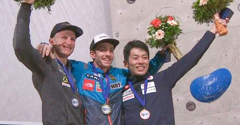 Stefano Ghisolfi, Marcello Bombardi, Francesco Vettorata, Coppa del Mondo Lead, arrampicata sportiva
