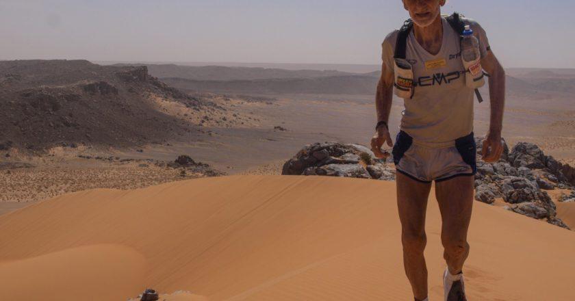 Marco Olmo, correre nel grande vuoto, Marathon des Sables, Ponte alle Grazie, libro