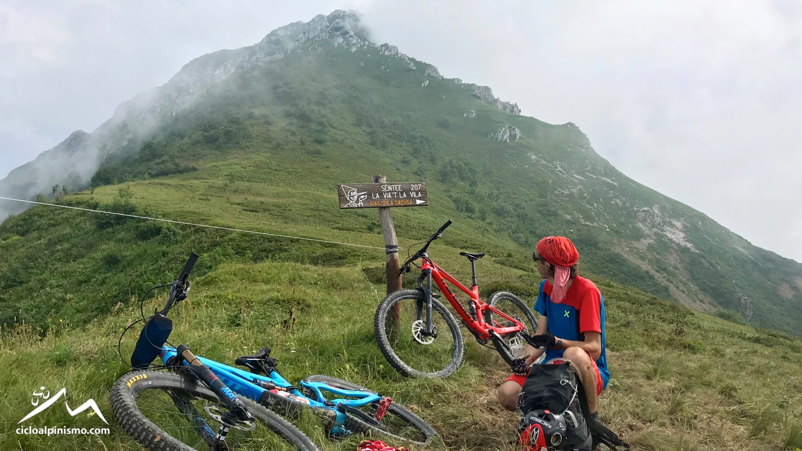 Photo of Cicloalpinismo sul Bac Baral (2130m)