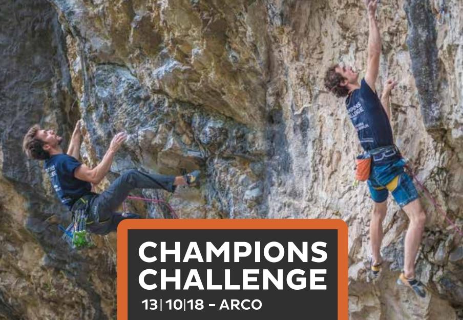 Photo of Champions Challenge: Montagna.tv seguirà la sfida stellare tra Adam Ondra e Stefano Ghisolfi