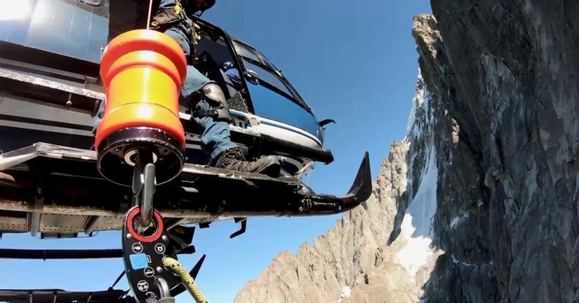 Dru, Monte Bianco, elisoccorso, PGHM