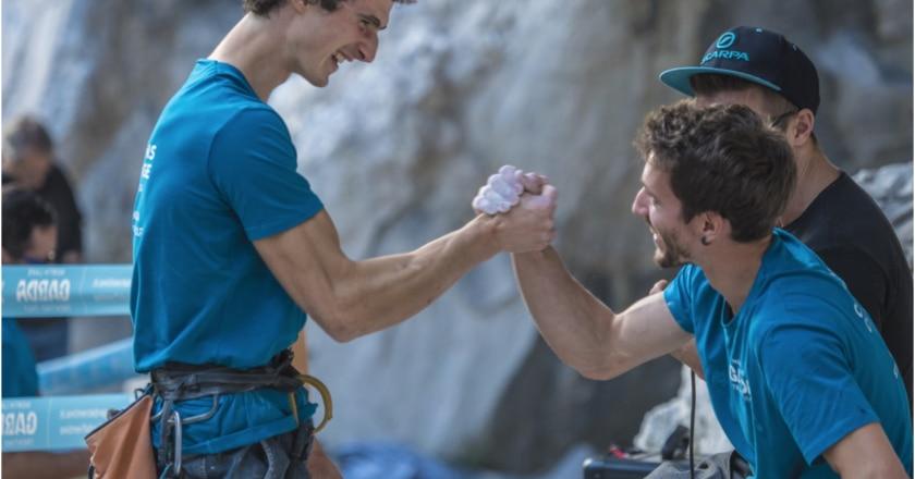 Champions Challenge, Adam Ondra, Stefano Ghisolfi, Arco di Trento, Garda Trentino
