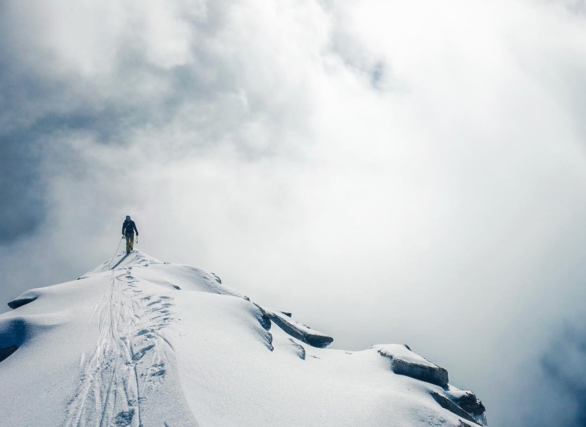Photo of Hansjörg Auer e The Unknown Peak, il video della salita