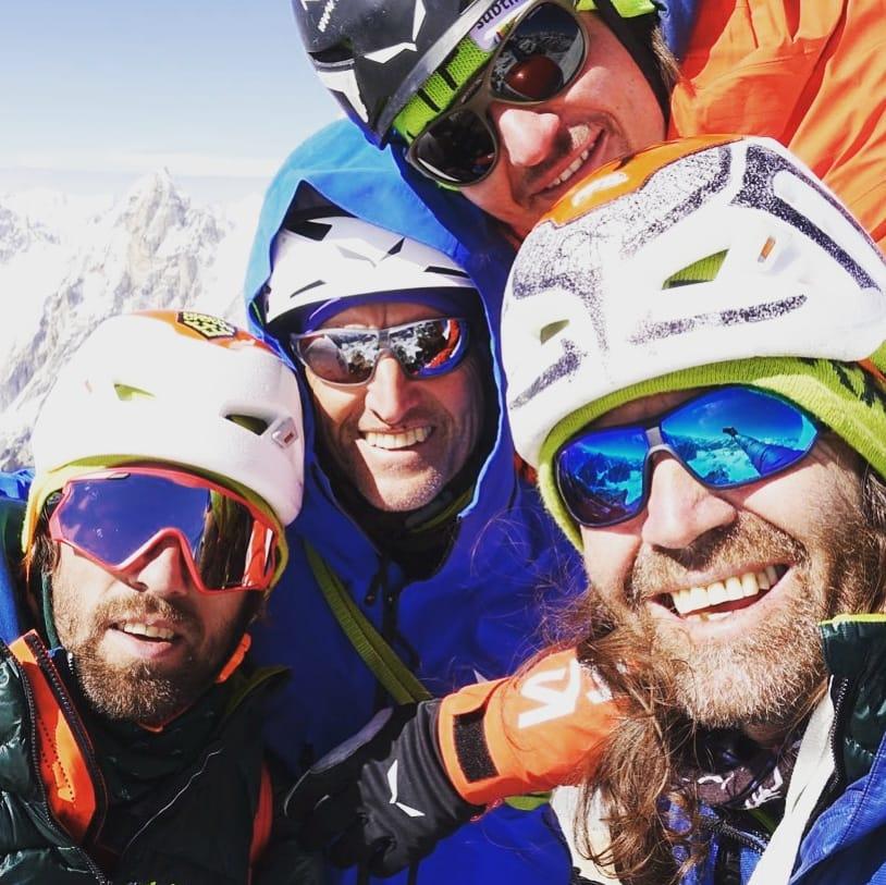 Thomas HuberRainer Treppte, Simon Gietl, Latok I, alpinismo