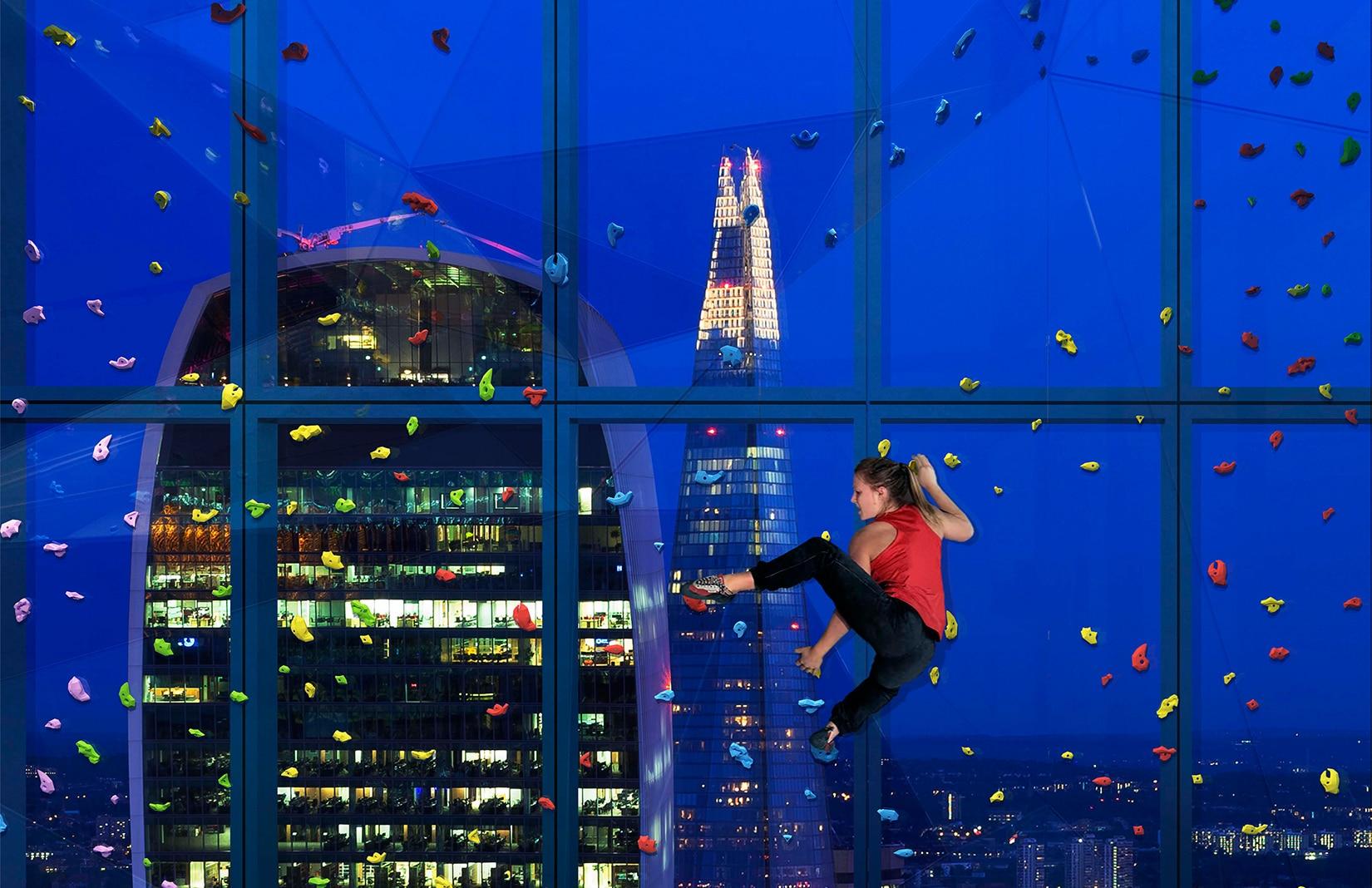 Photo of La spettacolare parete d'arrampicata nel cuore di Londra