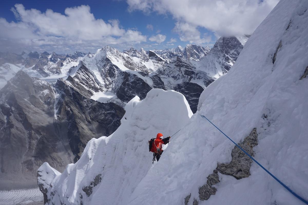 Photo of Nuova via giapponese sul Cerro Kishtwar (6173 m)