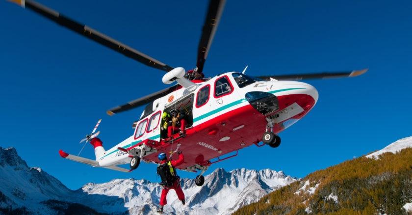 Valle d'Aosta, elisoccorso