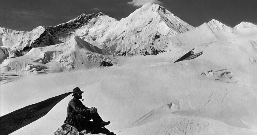 everest, mallory, foto