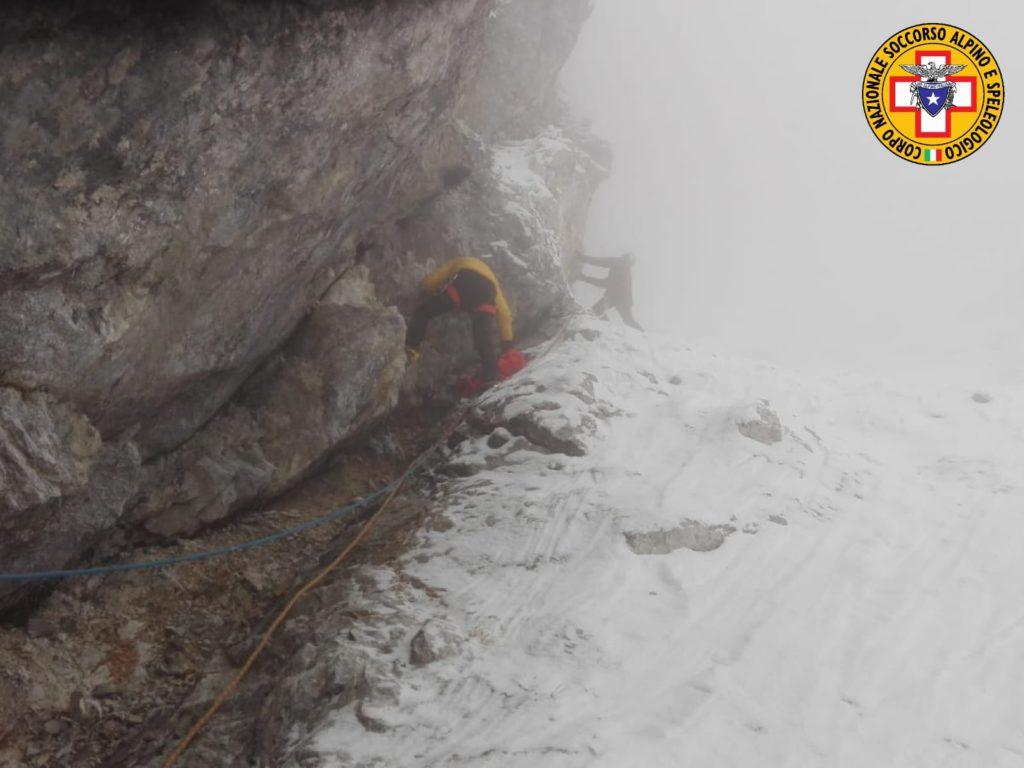 cronaca, incidente in montagna, alpi giulie