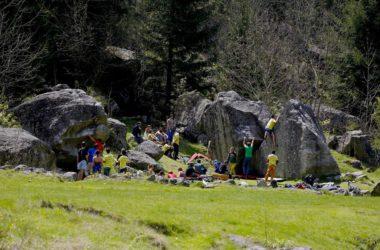 Melloblocco, bouldering, Val Masino, Michele Comi, Luca Della Sale