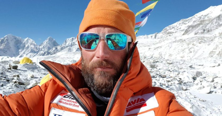 Alex Txikon, K2, inverno