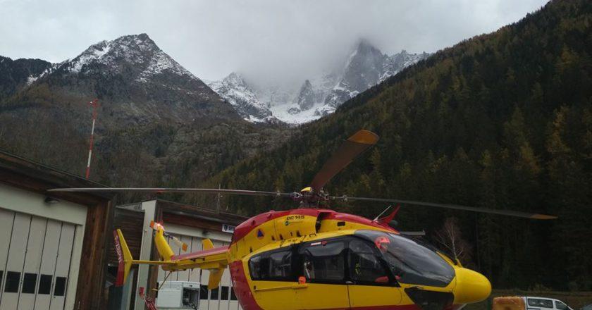 PGHM, soccorso alpino, Chamonix, crepaccio, Aiguille Verte, fake news