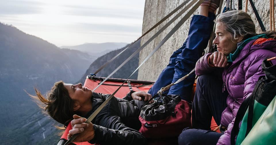 The Nose, El Capitan, Yosemite, Nina Caprez, Lynn Hill