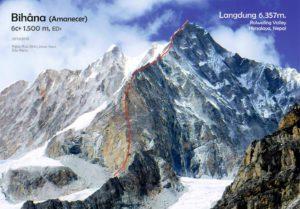 Nepal, Himalaya, Langdung, Jesús Ibarz,Edu Recio, Pablo Ruix, Bihâna, alpinismo