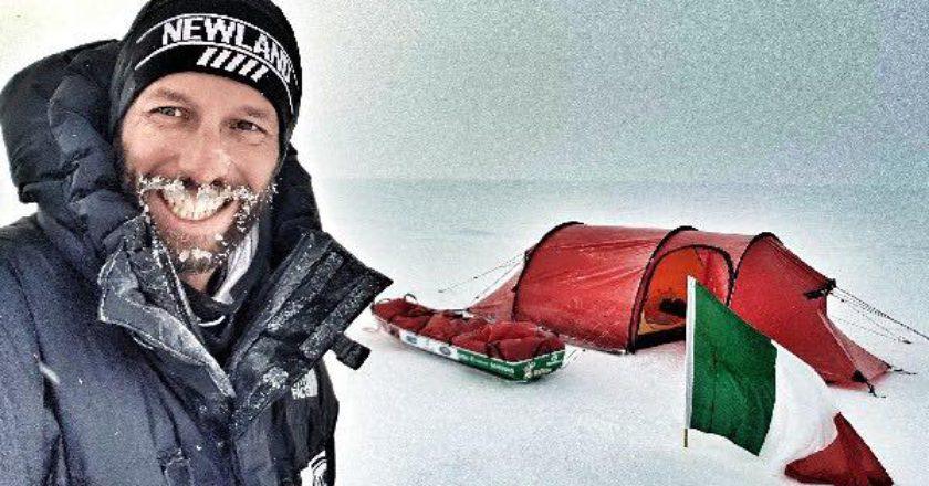 Antarctica Extreme, Danilo Callegari, Polo Sud