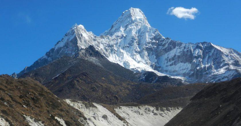 ama dablam, inquinamento, himalaya, nepal