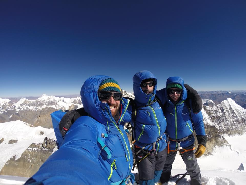 Nepal, Himjung, Vitus Auer, Sebastian Fuchs, Stefan Larcher, alpinismo, Himalaya