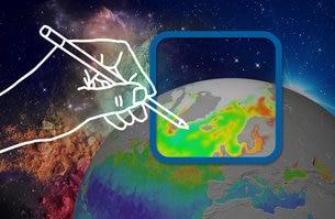 """Photo of """"Il Clima dallo Spazio"""", un concorso dell'ESA per comunicare attraverso l'arte l'importanza dei dati satellitari sul clima"""