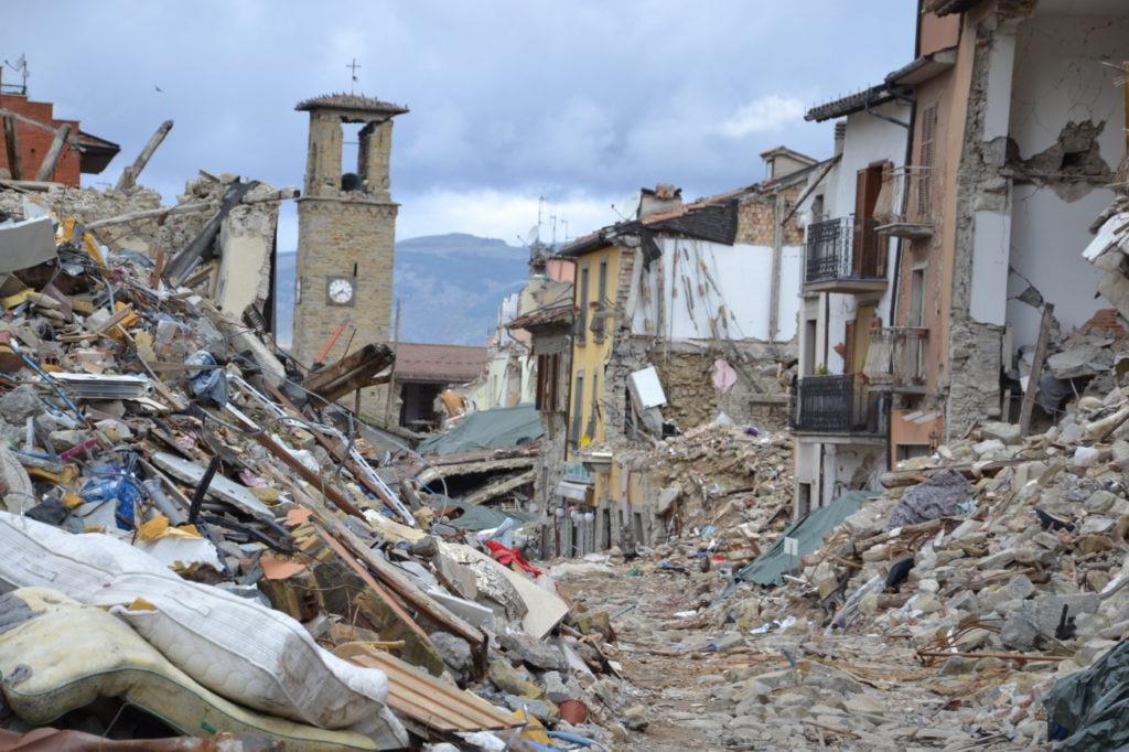Terremoto, Amatrice, Manolo, Montagne in moviimento