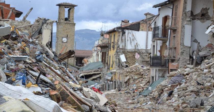 Terremoto, Amatrice, Manolo, Montagne in moviimento