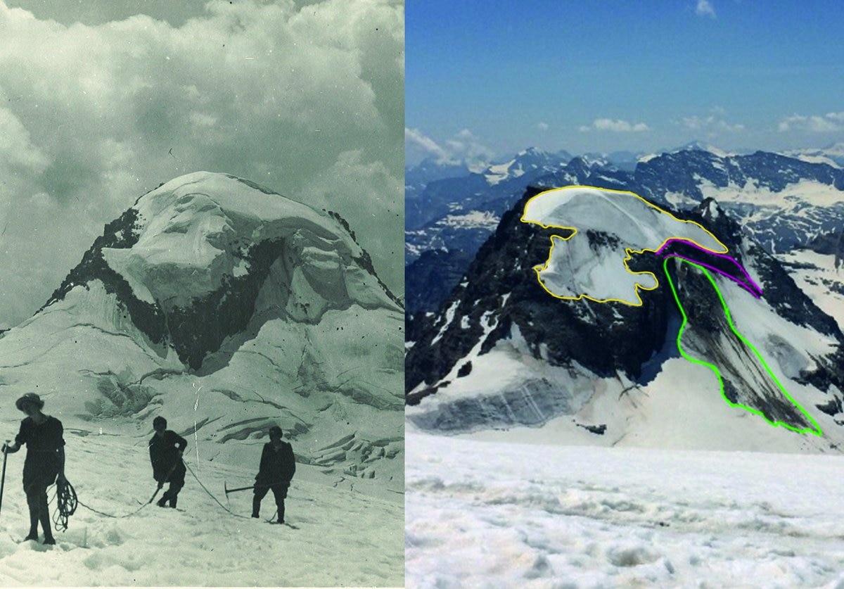 gran paradiso, ghiacciaio, cambiamenti climatici