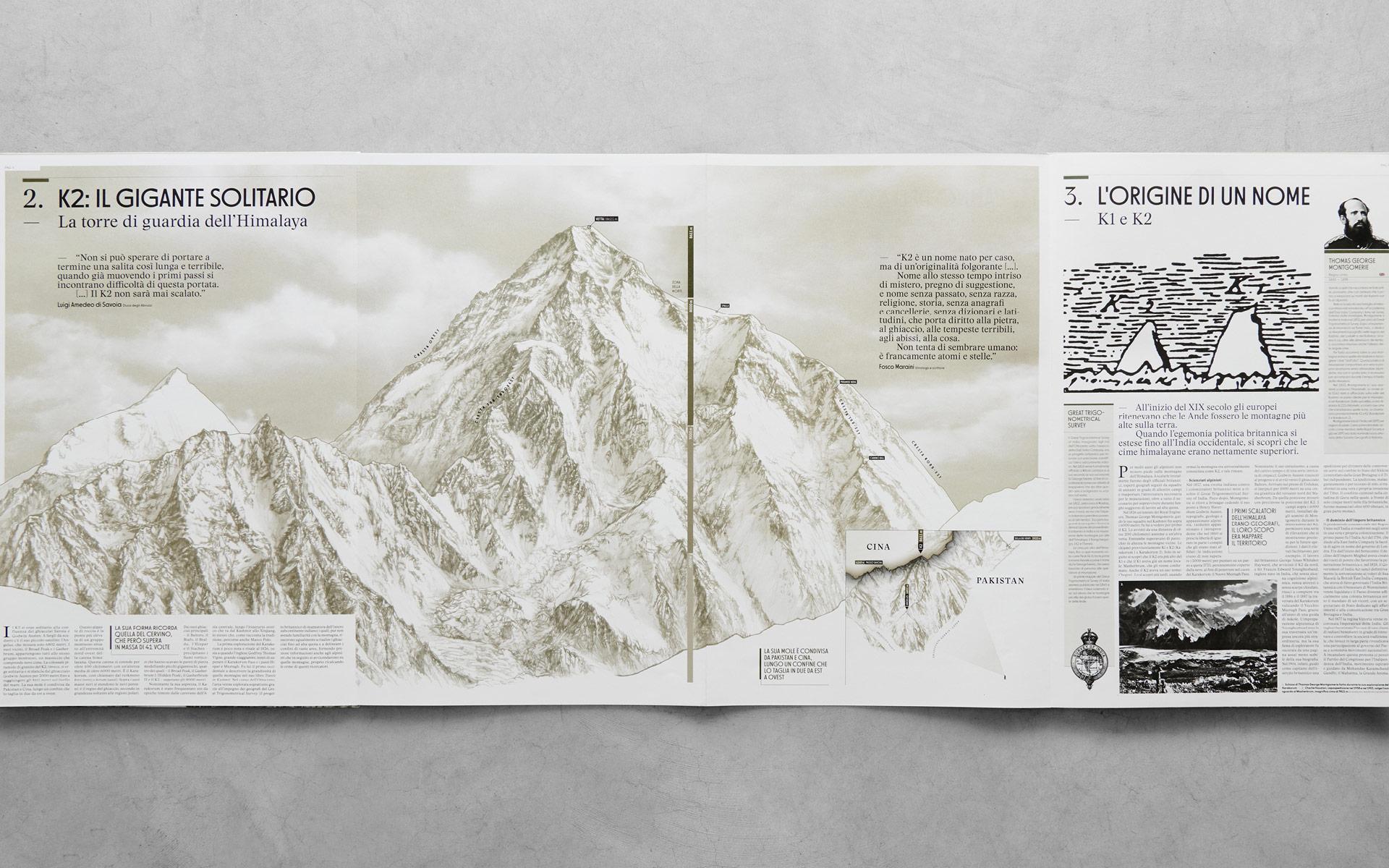 """Photo of K2. Storia della montagna impossibile. Un """"non libro"""" tutto da srotolare"""