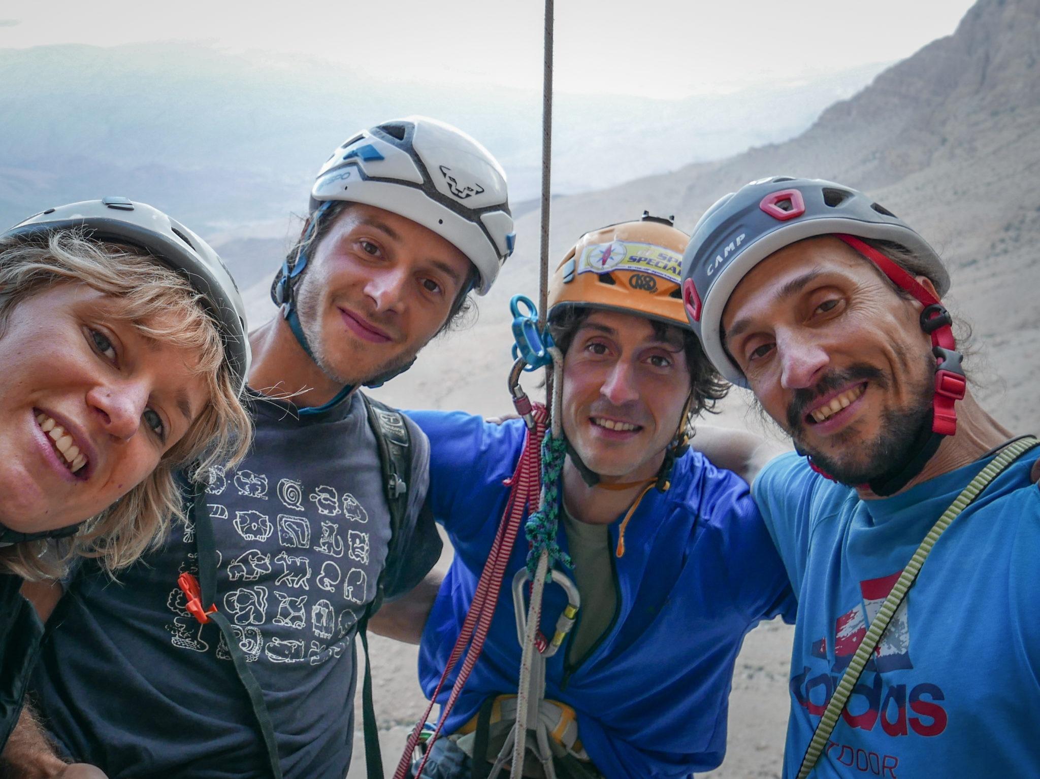arrampicata, ragni di lecco, alpinismo, matteo della bordella, pedeferri, oman