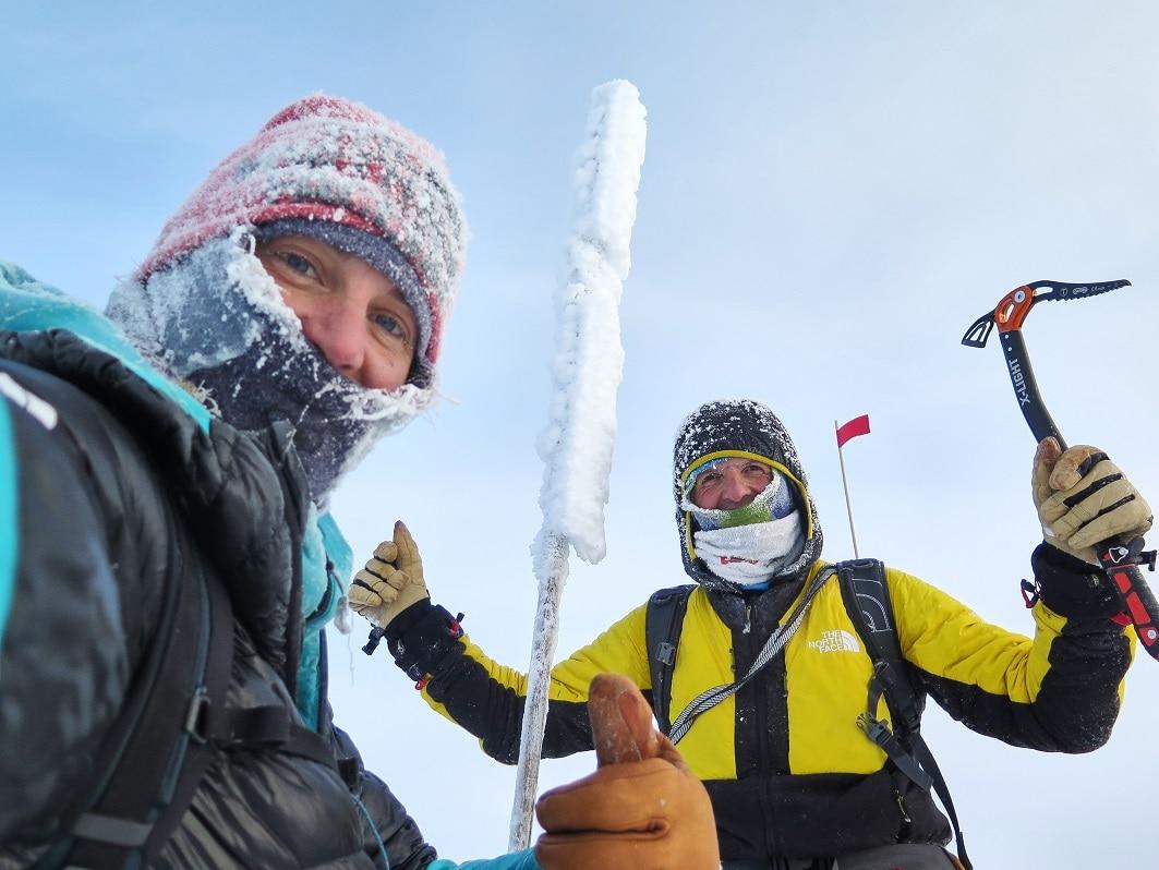 """Photo of """"Pobeda"""", online il film della spedizione di Simone Moro e Tamara Lunger in Siberia"""
