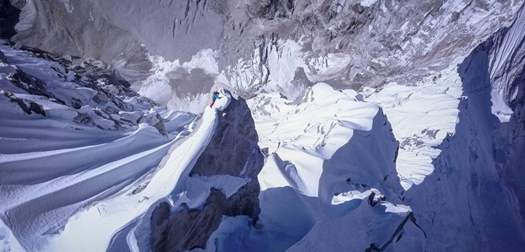 david lama, alpinismo, video, lunag ri, himalaya