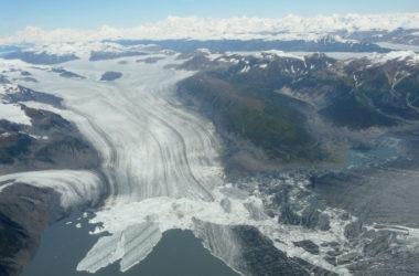 Yakutat, ghiacciaio, Alaska. NASA, Landsat, cambiamento climatico