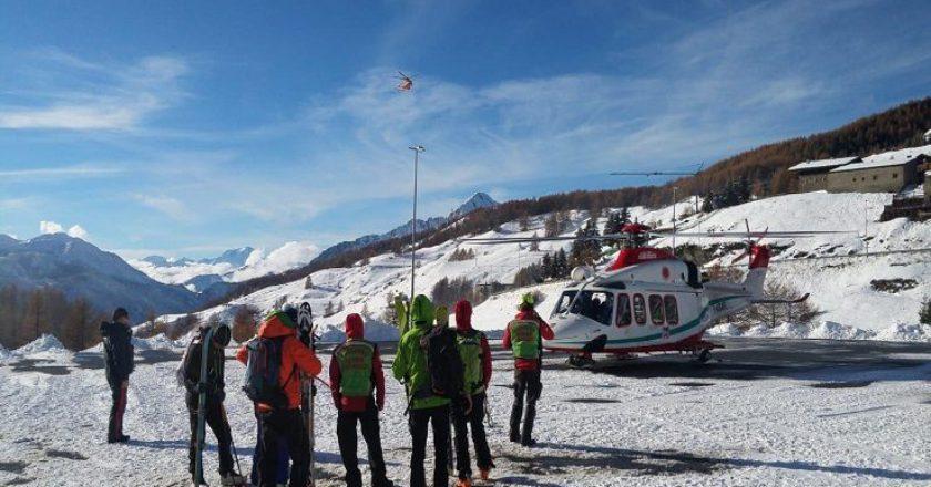 valanghe, Sestriere, Viso Mozzo, Alpi, In Der Waenden, soccorso alpino