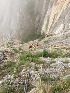 incidente montagna, brenta, base jumer, tuta alare