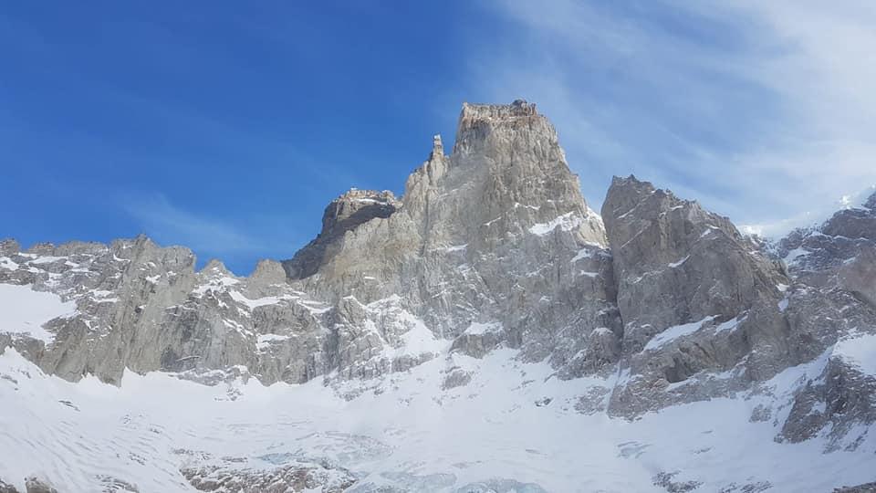 Patagonia, Cerro San Lorenzo, El Faro, Pilastro Sud, Martin Elias, François Poncet, Jérôme Sullivan